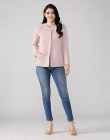 Ladies Coat Designer Blush