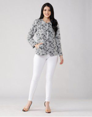 Ladies Coat FLORET BLACK
