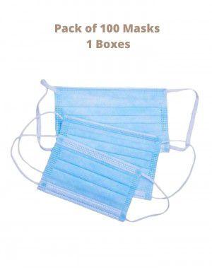 Disposable Face Mask 3 PLY Non Woven Surgical