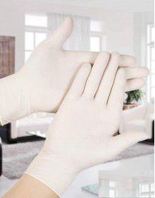 Latex Gloves Pack 100