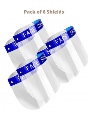 Face Shield Pack of 6