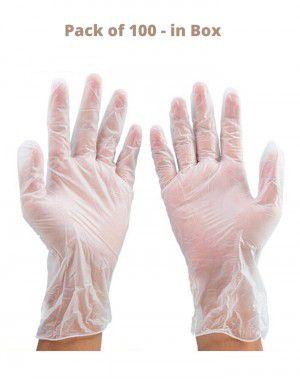 Vinyl Gloves Pack 100