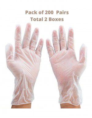 Vinyl Gloves Pack 200