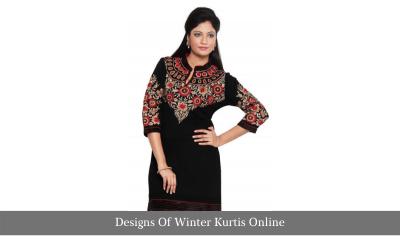Designs Of Winter Kurtis Online