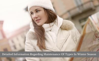 Detailed Information Regarding Maintenance Of Tyres In Winter Season