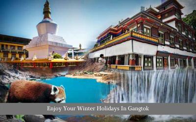 Enjoy Your Winter Holidays In Gangtok