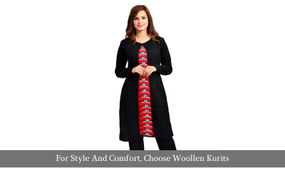 For Style And Comfort, Choose Woolen Kurits
