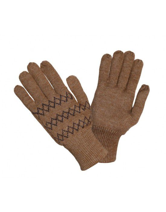 Pure Wool Hand Gloves Designer DGrey