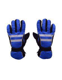 Snow Hand Gloves Blue