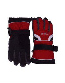 Snow Hand Gloves Red
