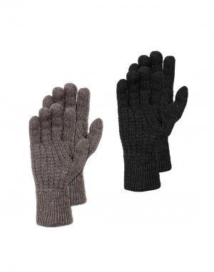 Mens woolblend gloves p2