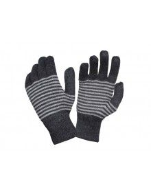 Pure Wool Gloves Designer Women Black