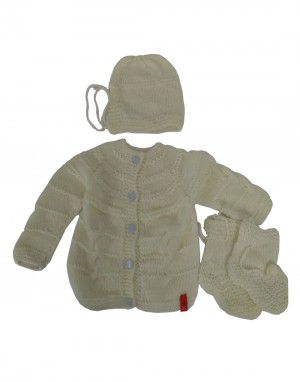 Handmade woolen suit self Lemon