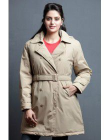 "Ladies OverCoat 35"" Full sleeves"