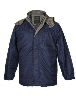Mens 4 in 1 Jacket Navy