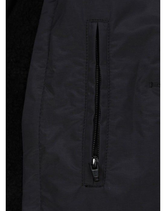 "Ladies OverCoat 35"" Full sleeves Black"