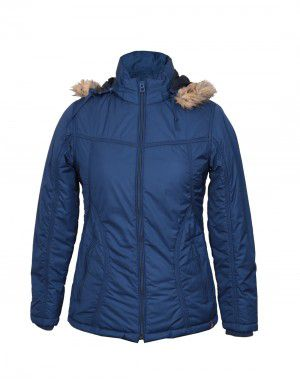 Womens Jacket Nylon Blue