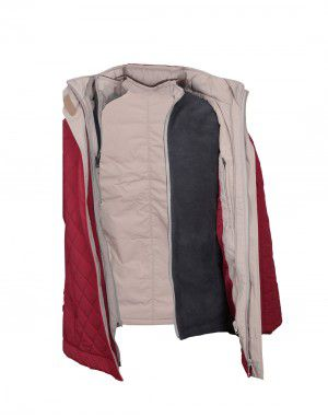 Ladies Jacket FS 4 in 1 Red