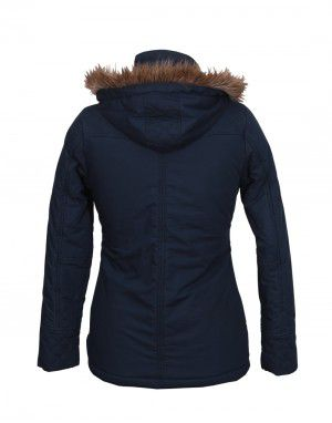 Ladies Cotton Jacket FS Navy