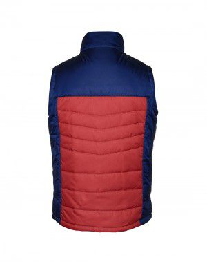 Boys Sporty Quilted Jacket Red