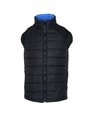 Baby Boy Quilted Jacket Black