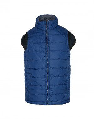 Baby Boy Quilted Jacket Navy