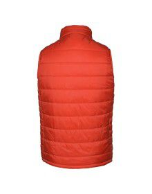 Boys Quilted Jacket Orange Reversible