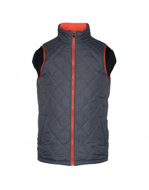 Baby Boy Quilted Jacket Orange