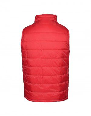 Baby Boy Quilted Jacket Red