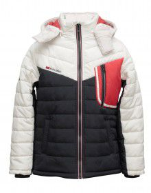 Boys Jacket White Quilted