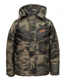 Boys Jacket Military design Quilted