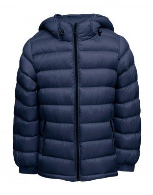 Boys Jacket Basic Denim Quilted