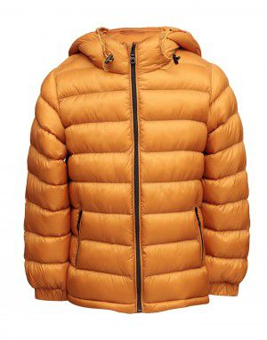 Boys Jacket Mustard Basic Quilted