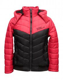 Boys Jacket Red Quilted