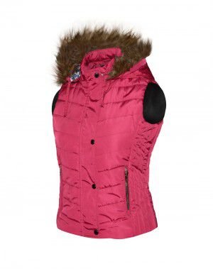 Baby Girl Light wight quilted Jacket Rose