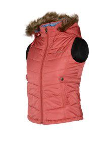 Baby Girl Light wight quilted Jacket Carrot