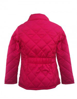 Girls Jacket Quilted pink