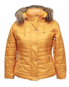 Girls Jacket Mustard Quilted