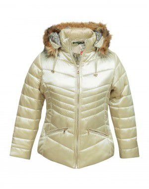 Girls Jacket Pearl Quilted