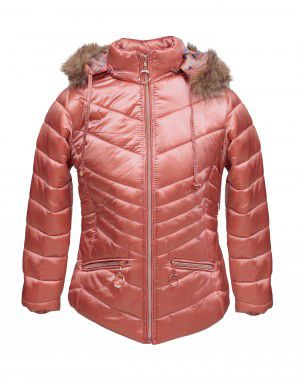 Girls Jacket Cyan Quilted