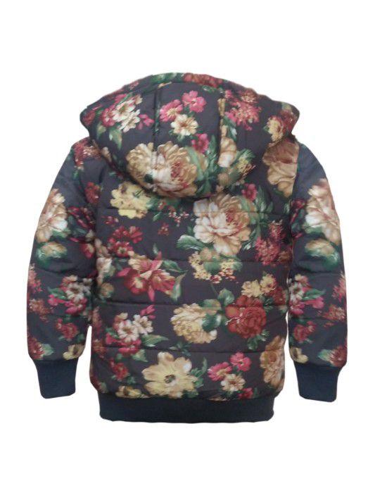 Girls hooded Jacket Multi