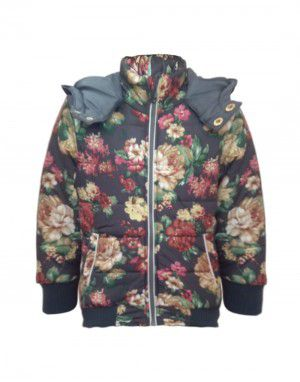 Girls hooded Jacket Multi
