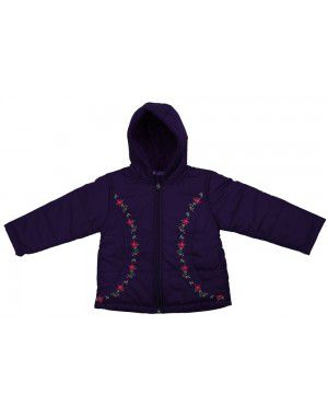 Girls Quilted Jacket D4