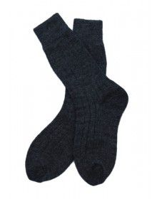 Kids DGrey Pure Wool Socks P3