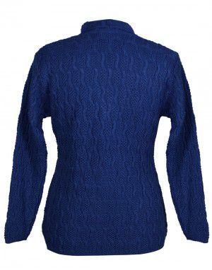 Lady Cardigan Pocket FS blue