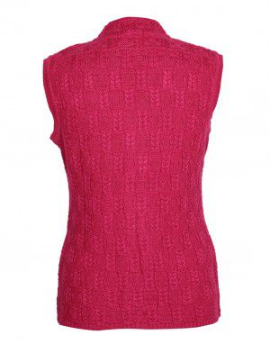 Lady Cardigan Pocket SL Pink