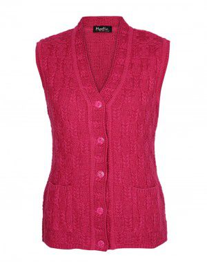 Lady Cardigan Pocket SL Pink