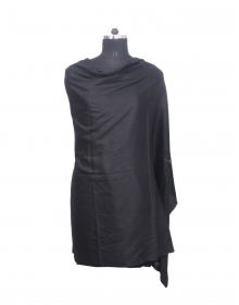 Women Shawls plain black