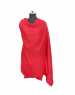 Women Shawls plain design Red