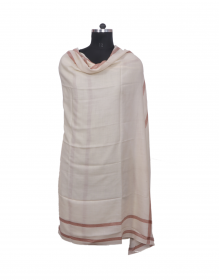 Women Shawls plain cream